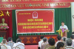 Bắc Ninh tuyên truyền Công ước quốc tế về các quyền dân sự, chính trị và pháp luật Việt Nam