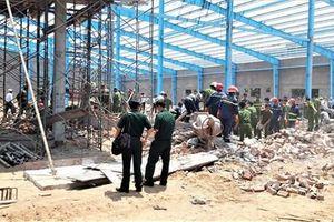 Sập công trình xây dựng, ít nhất 5 công nhân tử vong