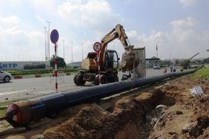 TP.HCM: Phân luồng giao thông thi công cống thoát nước đường Dương Tử Giang