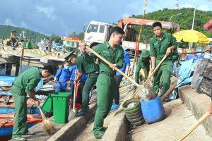Chi đoàn Đồn BP cửa khẩu cảng An Thới triển khai nhiều hoạt động thiết thực