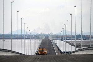 Toàn cảnh cây cầu vượt biển dài nhất Việt Nam ở Hải Phòng