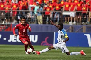 U.20 Việt Nam 0-2 U.20 Honduras: Chia tay World Cup!