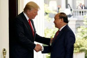 Tuyên bố chung Việt Mỹ: Thúc đẩy thương mại, ổn định biển Đông