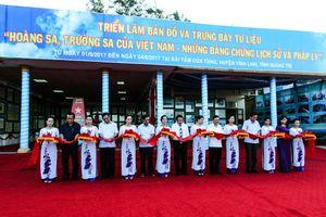 Quảng Trị: Triển lãm lưu động về Hoàng Sa, Trường Sa của Việt Nam