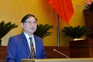 Quốc hội nghe trình bày Tờ trình và Báo cáo thẩm tra dự án Luật Thủy sản (sửa đổi)