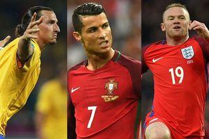 Ronaldo và những 'ông vua dội bom' ở ĐT quốc gia