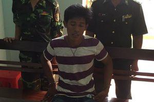 Khởi tố đối tượng người Campuchia vận chuyển trái phép chất ma túy vào Việt Nam