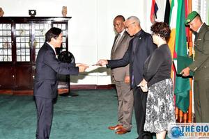 Guyana mong muốn tăng cường quan hệ với Việt Nam