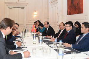 Thủ tướng tiếp lãnh đạo một số hiệp hội, tập đoàn kinh tế