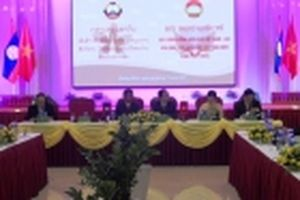 Vận động các doanh nghiệp tổ chức 'Phiên chợ đoàn kết' ở khu vực biên giới Việt Nam - Lào