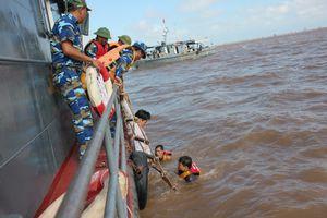 BĐBP Thái Bình chủ động đối phó với diễn biến của mưa bão