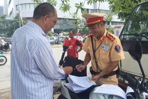 Bộ Công an phản hồi về thông tin xử phạt hành chính trong lĩnh vực giao thông