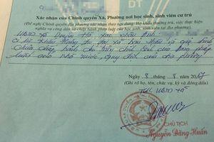Thêm 1 trường hợp bị cán bộ xã bút phê 'xấu' vào sơ yếu lý lịch tại Hà Nội