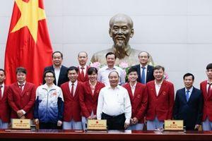 Thủ tướng gặp mặt Đoàn thể thao Việt Nam dự SEA Games 29