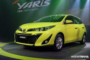 Toyota giới thiệu mẫu Yaris 2017 tại Thái Lan, giá bán khoảng 319 triệu đồng