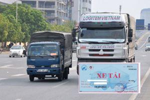 Lỗi không gắn phù hiệu xe tải bị phạt ra sao?