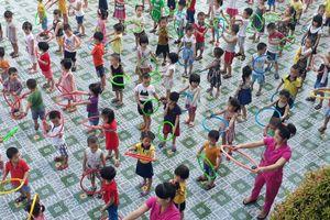 Nghệ An: Đẩy mạnh phát triển giáo dục mầm non ngoài công lập