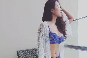 Thanh Vân Hugo khoe thân hình nóng bỏng ở tuổi 30