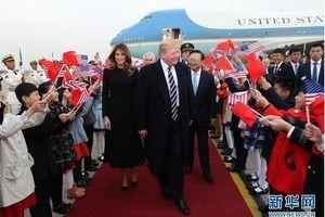 Trung Quốc đón tiếp Tổng thống Trump theo cách đặc biệt