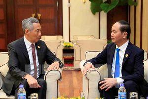 Việt Nam đánh giá cao hoạt động của các nhà đầu tư Singapore