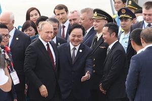 Tổng thống Putin đã tới Đà Nẵng dự APEC