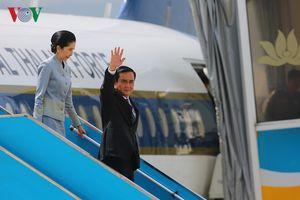 Thủ tướng Thái Lan và Phu nhân đến Đà Nẵng