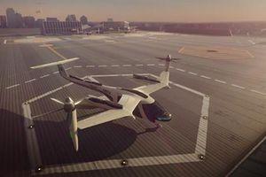 Uber bắt tay NASA phát triển taxi bay