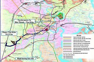 Metro Bến Thành-Tân Kiên tạo trục đường sắt đô thị xuyên tâm TPHCM