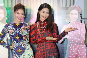 Dàn sao nữ Hà Nội diện áo dài đọ dáng với 'Cô Ba Sài Gòn'