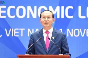 Chủ tịch nước họp báo công bố kết quả Hội nghị Cấp cao APEC