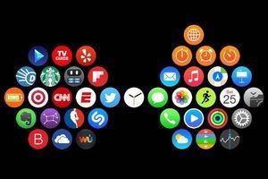 Thay đổi cách bố trí ứng dụng trên giao diện Apple Watch