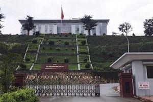 Camera quay cảnh trộm đột nhập Cục hải quan Lào Cai