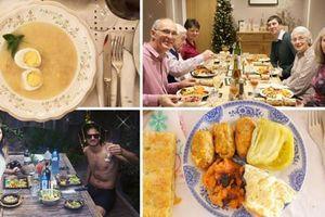 Bữa tiệc đêm Giáng sinh ở các nước khác nhau thế nào
