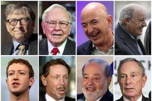 Top 1% giàu nhất thế giới nắm nửa số tài sản toàn cầu