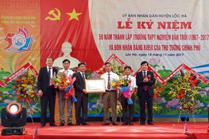 Trường THPT Nguyễn Văn Trỗi - 50 năm một chặng đường