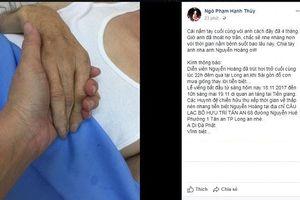Sao Việt đau buồn khi diễn viên Nguyễn Hoàng qua đời