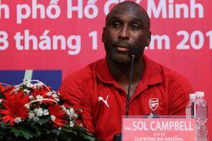 Sol Campbell dự đoán bất ngờ về trận đại chiến Arsenal - Tottenham