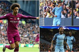 Đội hình siêu tấn công giúp Man City đè bẹp Leicester City