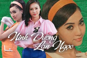 Để có vai diễn chảnh và đỏng đảnh như 'Cô Ba Sài Gòn' là cả một quá trình lột xác của Lan Ngọc