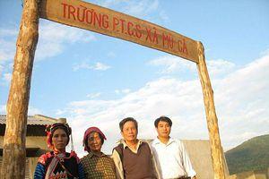 'Suối Thầy giáo', nơi núi cao Hà Nhì
