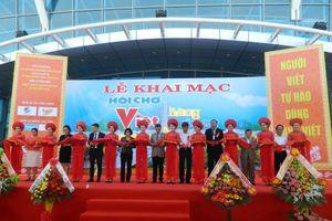 450 gian hàng tham gia Hội chợ hàng Việt và Nông sản 2017