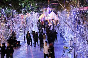 Thưởng ngoạn Giáng sinh châu Âu ngay tại Hà Nội