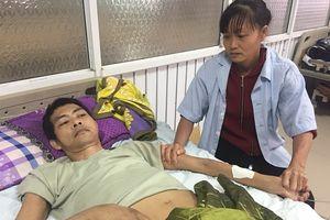 Chồng tai nạn liệt giường, vợ héo hon xin giúp đỡ