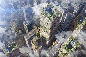 Nhật Bản xây tòa nhà bằng gỗ cao nhất thế giới
