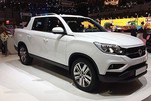Ra mắt bán tải Ssangyong Musso mới, 'đối thủ' Ford Ranger