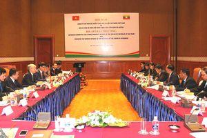Việt Nam - Myanmar: Tăng cường hợp tác về công tác dân tộc