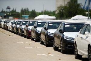 Hôm nay hơn 2.000 ô tô Honda nhập khẩu được thông quan?