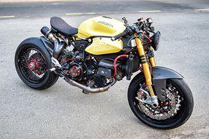 Siêu môtô Ducati Panigale 1199S độ cafe racer tại Sài Gòn