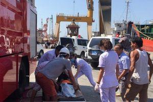 2 thủy thủ và 1 thợ máy chết ngạt ở Quy Nhơn do ngộ độc khí