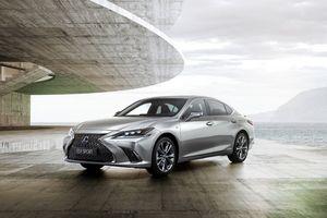 Lexus ES 2019 chính thức ra mắt, sang trọng và hiện đại hơn
